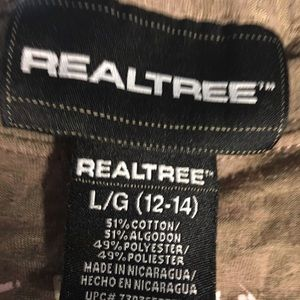 Real tree graphic t